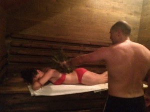 Russian Bath House Experience