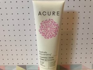 Product Review- ACURE : Radically Rejuvenating Cleansing Cream