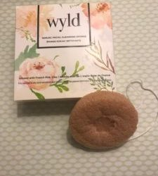 New Beauty Product Review: WYLD Konjac Facial Cleansing Sponge